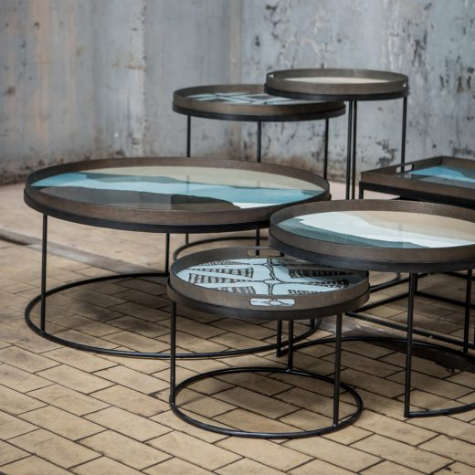 20329 Round tray coffee table set & Wabi Sabi collection_cut